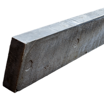 concrete flat top edge for bordering