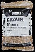 10mm gravel hanson 25kg