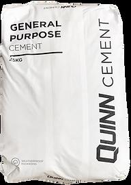 Quinn Cement 25kg waterproof bag