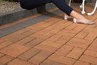 brindle damson single size block paving