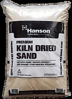 Kiln dried sand hanson 25kg