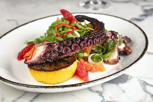 AVALON | Steak & Seafood | OCTOPUS