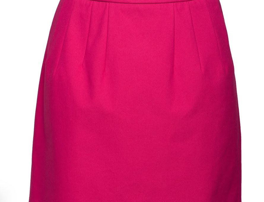 юбка мини розовая