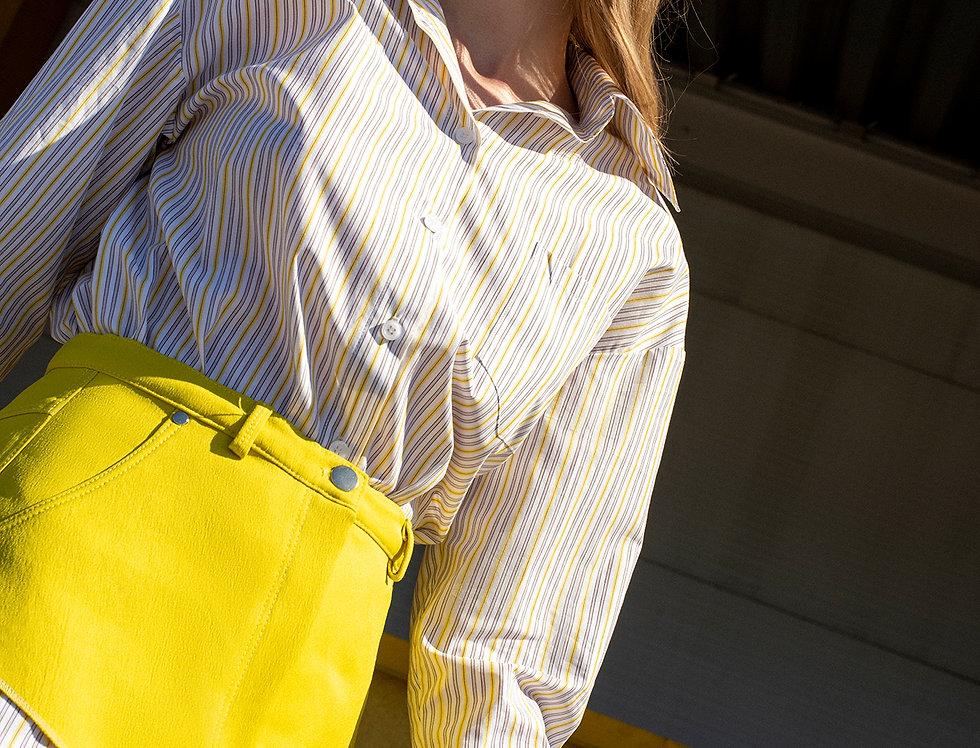 yellow basque