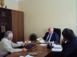 Депутатская приёмная в г. Покровске, 30 октября