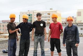 В Якутии стройотряды чествовали на высшем уровне