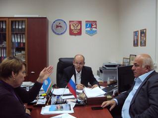 Рабочая встреча народного депутата