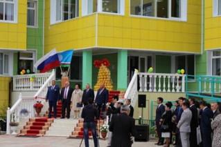 Министр образования Феодосия Габышева приняла участие в торжественном открытии Чурапчинской гимназии