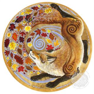 Autumn Kitsune - Fox Spirit