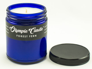 We're growing!  Checkout our new BLUE line of candles!