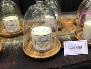 Olympic Candle Participating in Seattle Gift Show