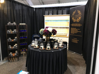 Olympic Candle is officially open for businessat the Las Vegas World Market! Please drop by and vis