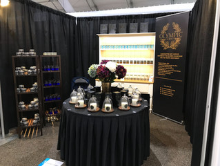 Olympic Candle is officially open for business at the Las Vegas World Market! Please drop by and vis