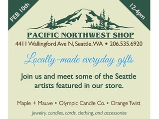Come visit us at the Pacific Northwest Shop Trunk Show!
