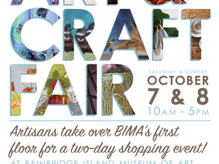 Join Us This Weekend At The Bainbridge Island Museum of Art  Craft Fair!