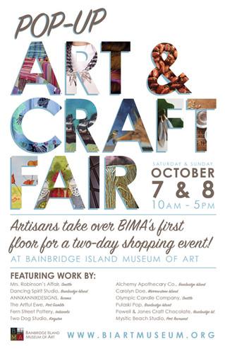 Join Us This Weekend At The Bainbridge Island Museum of Art  Craft Fair!