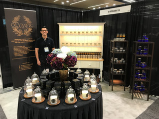 Olympic Candle is Open and Ready for Business at the Seattle Gift Show!