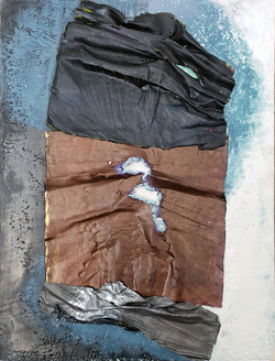 Detritus, Black & Aqua