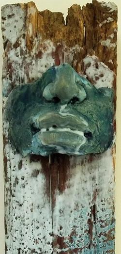 Ghost Totem #2, detail