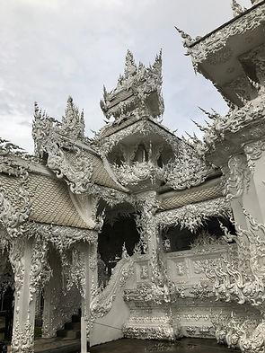 Chiangra white temple