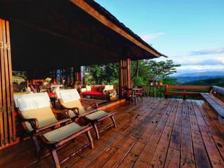 Doi Isara Living Room Balcony