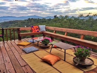 Doi Isara - Living Room Balcony