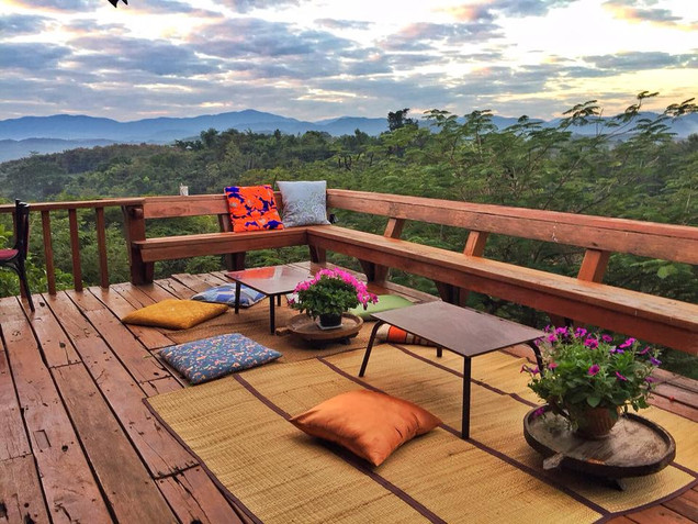 Doi Isara - Living Room Balcony