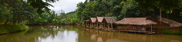 Doi isara resort lake huts