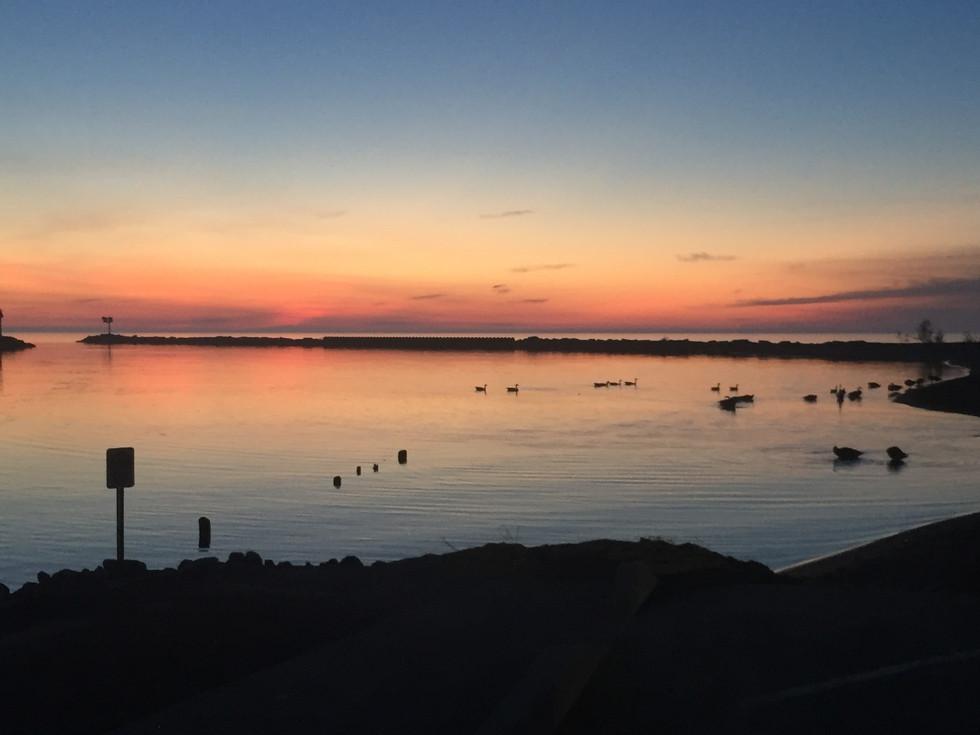Another Beautiful Sunset over Lake Michigan