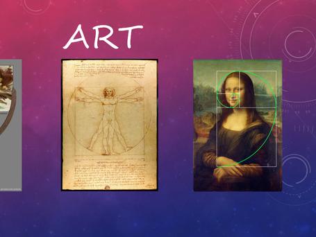 Sacred Geometry hidden in Art