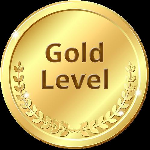 Gold Sponsor ($3,000 + 3% fee of $90)