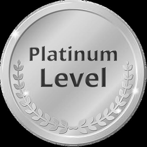 Platinum Sponsor ($5,000 + 3% fee of $150)