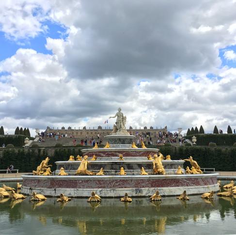 Versailles …
