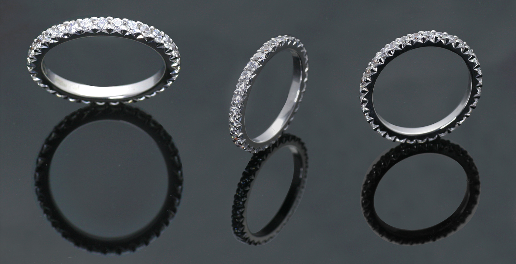 Diamond Full Eternity Rings