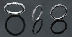 Diamond Full Eternity Rings