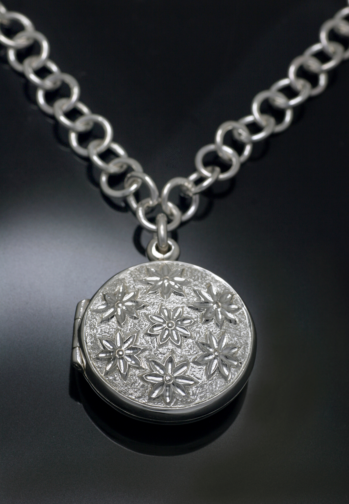 Hand Engraved Locket