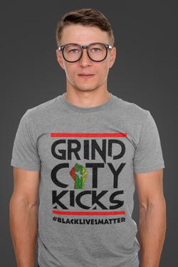 BLM white man grey t shirt .png