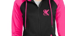 Ladies GCK Zipper Hoodie