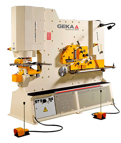 Punching shear for stainless steel