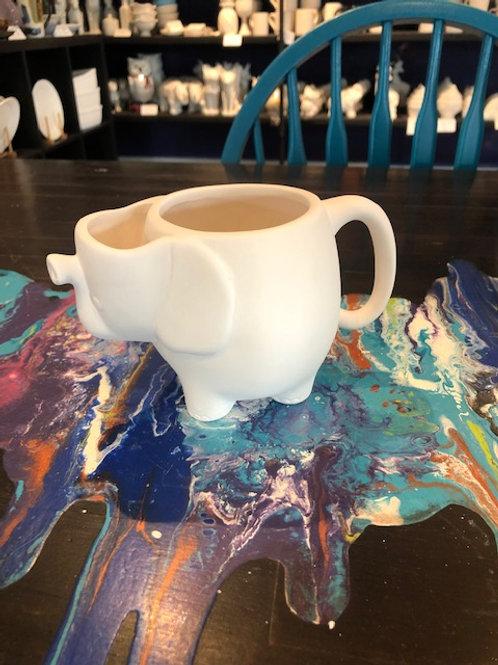 Elephant Teabag Mug