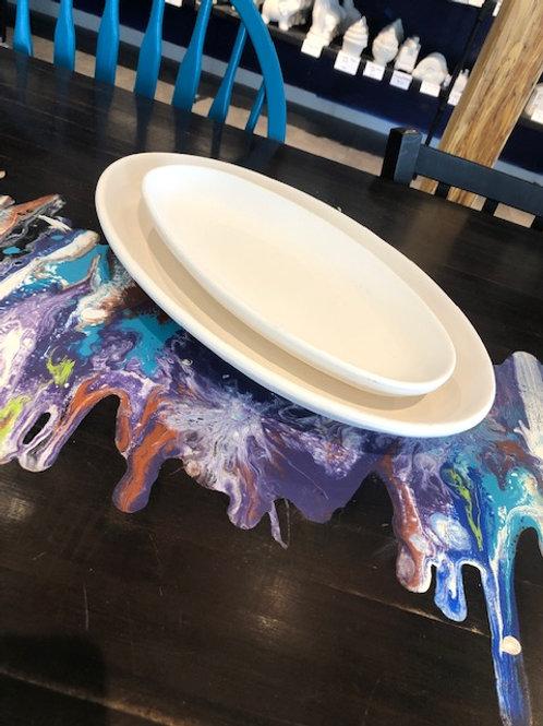 Oval Fish Platter