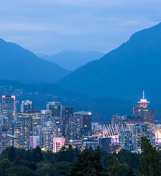 The city of Vancouver, British Columbia,