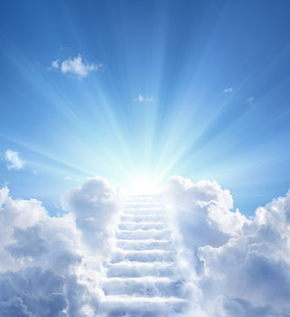 Stairway Leading Up To Heavenly Sky Towa
