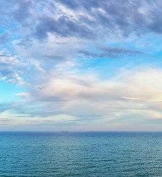 beautiful seascape panorama. Composition