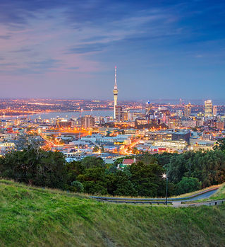 Auckland. Cityscape image of Auckland sk