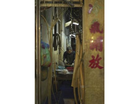 路地裏の台所、流浮山 九龍 Alley Kitchen Lau Fau Shan Kowloon
