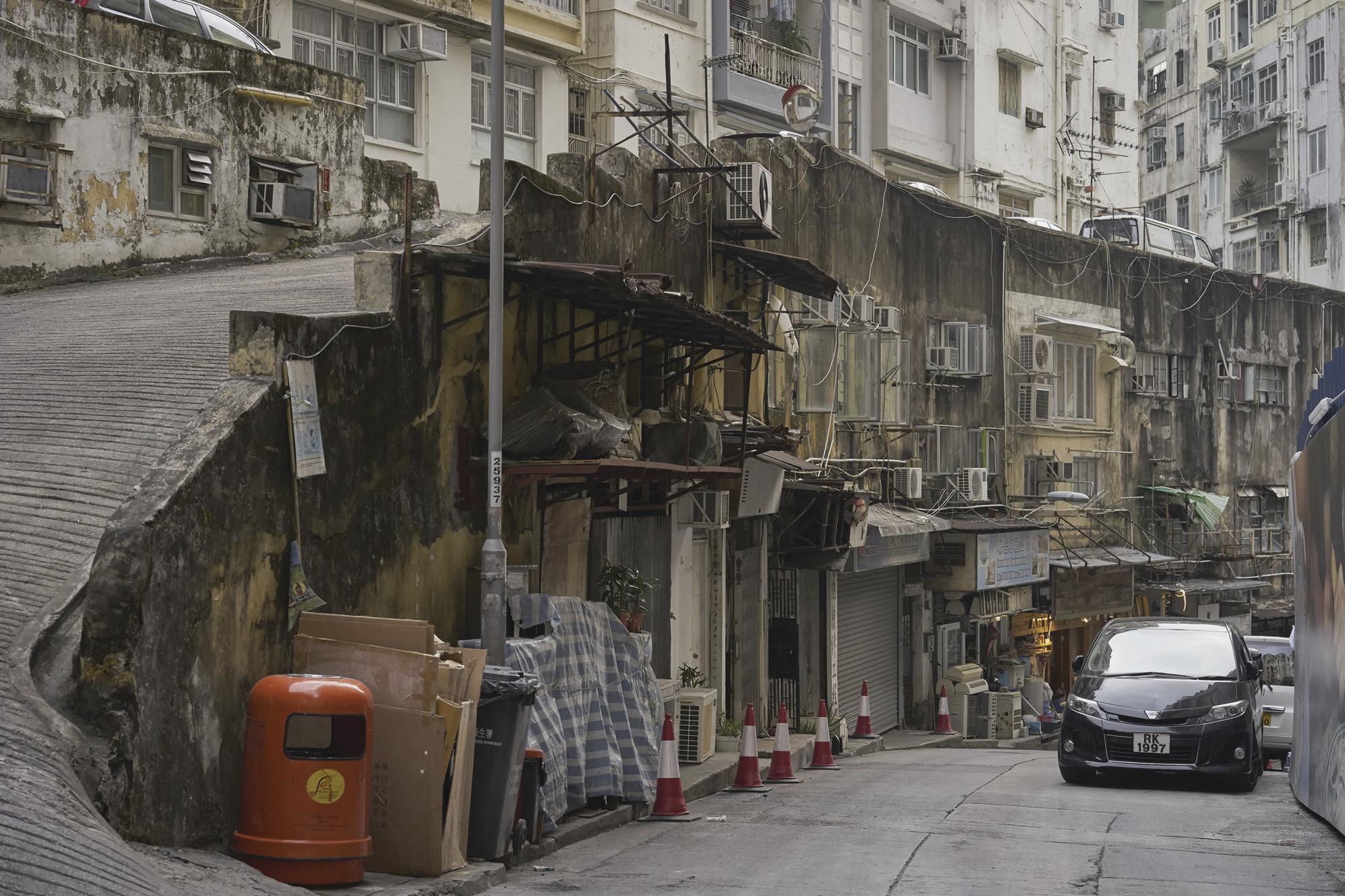 """香港の下町 北角 香港島  Hong Kong's downtown """""""