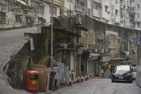 """香港の下町、北角 香港島 Hong Kong's downtown """"North Point"""" Hong Kong Island"""