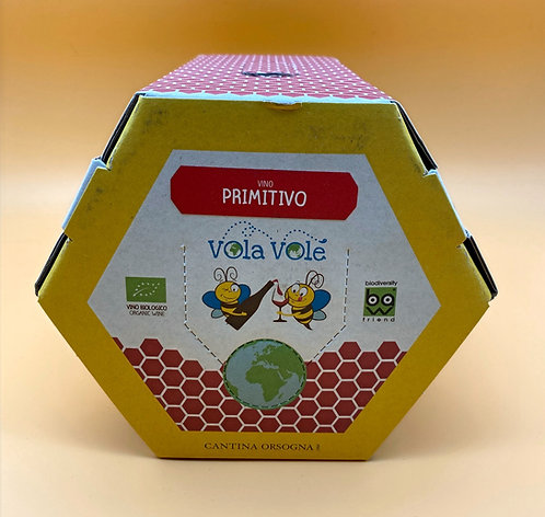 BAG IN BOX 3 LT PRIMITIVO TERRE DI PUGLIA IGT VOLA VOLE