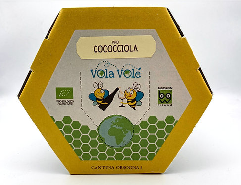 BAG IN BOX 3 LT COCOCCIOLA IGT VOLA VOLE